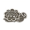Steel Lion Belt Buckle