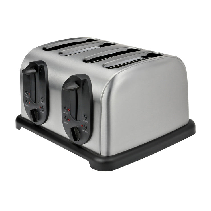 4-Slice Toaster Stainless Steel