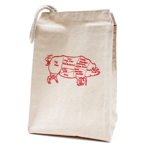 Butcher Pig Lunch Bag