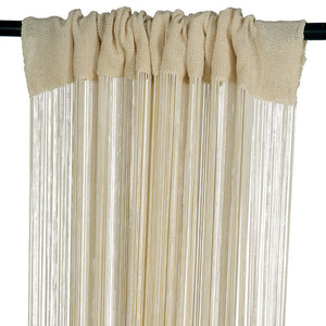 Fringe Panel Bone White