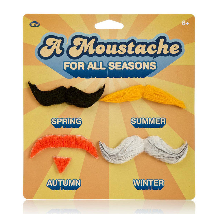 A Moustache for all Seasons
