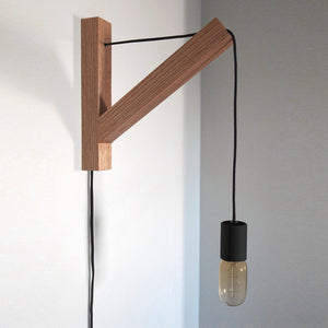 Bracket Lamp Natural Black