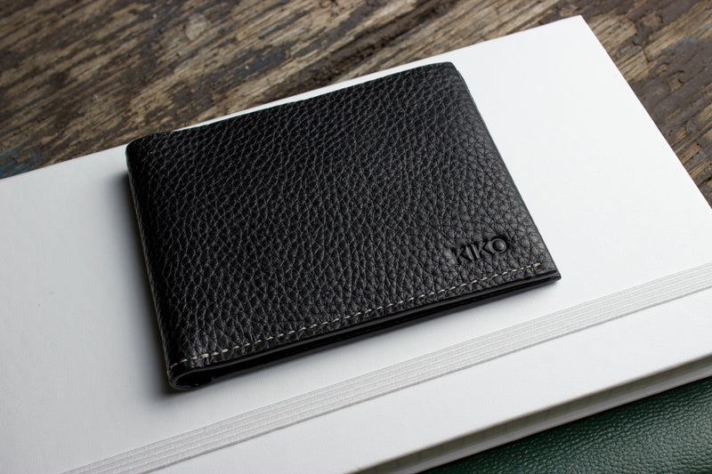 Classic Leather Wallet (Black)