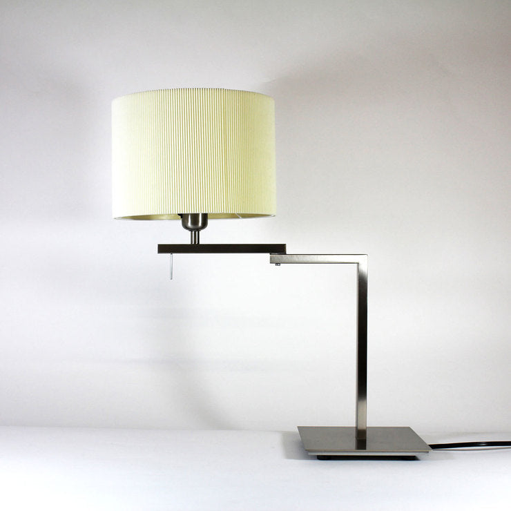 Berilio Table Lamp Nickel