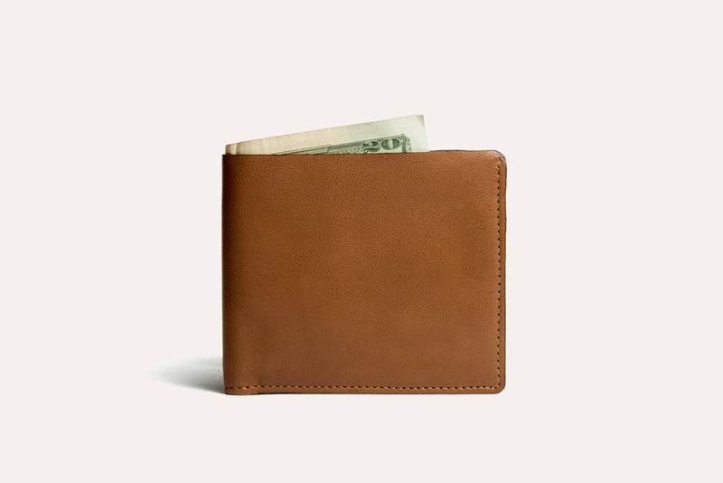Double Bifold Wallet (Brown)