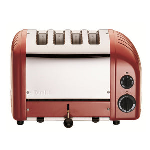 Classic 4 Slice Toaster Red