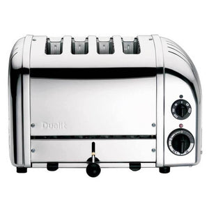 Classic 4 Slice Toaster Chrome