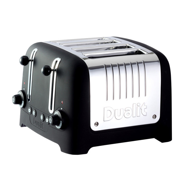 Lite 4 Slice Toaster Black