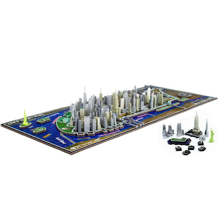 4D Cityscape Puzzle NYC