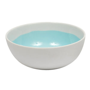 Aqua Glazed Bowl Extra Large