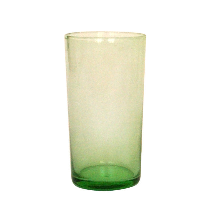 Lulu Tall Glass Green