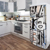 Urban Fridge Decal