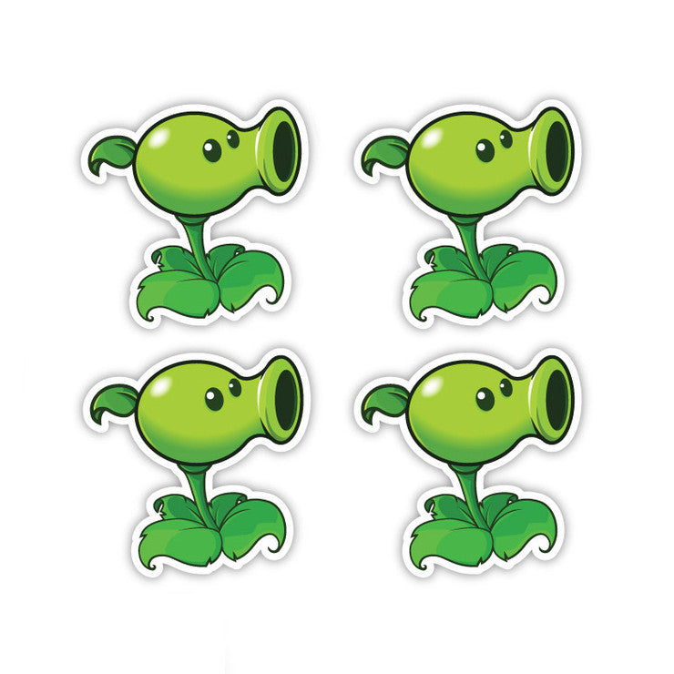 Pea Shooter Four Pack 5x5