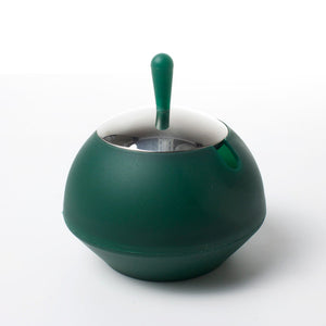 Ali Baba Lidded Bowl Small Green