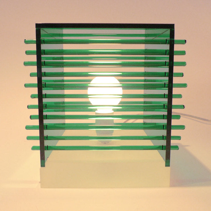 Cubes Table Lamp Emerald Green