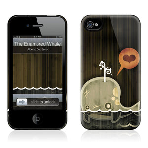 Enamored Whale iPhone 4/4S Case
