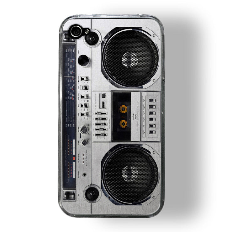 iPhone 4/4S Case Boombox