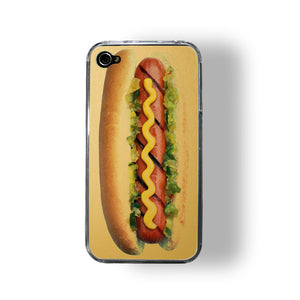 iPhone 4/4S Case Hot Dog