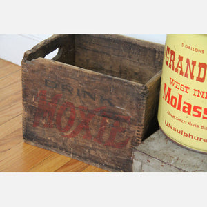 Drink Moxie Crate Wood