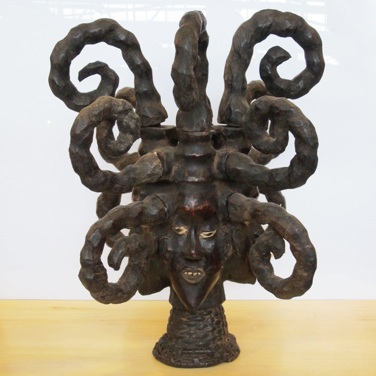 African Head Statue