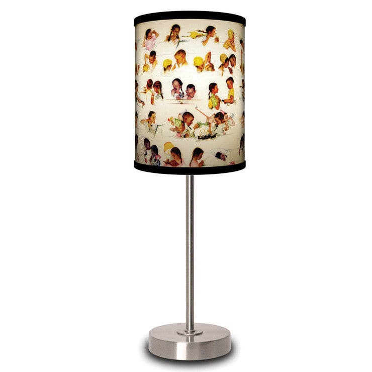 A Day in The Life of a Girl Lamp