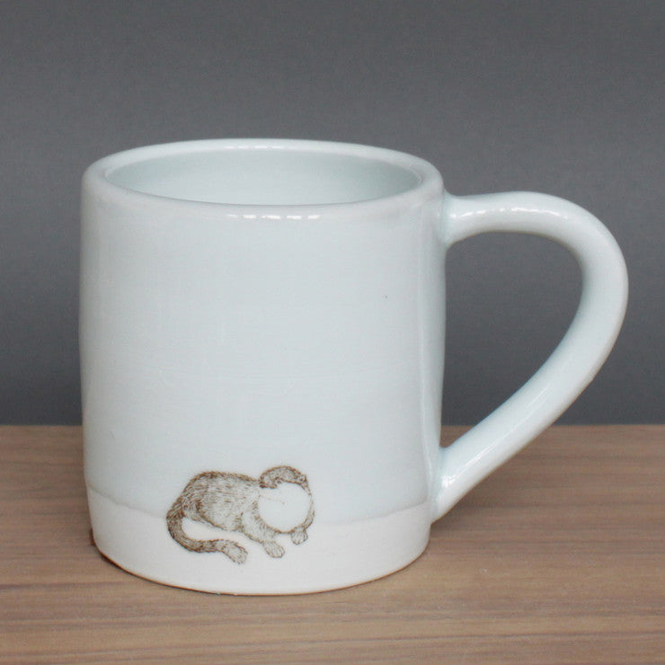 Large Mug Small Otter White