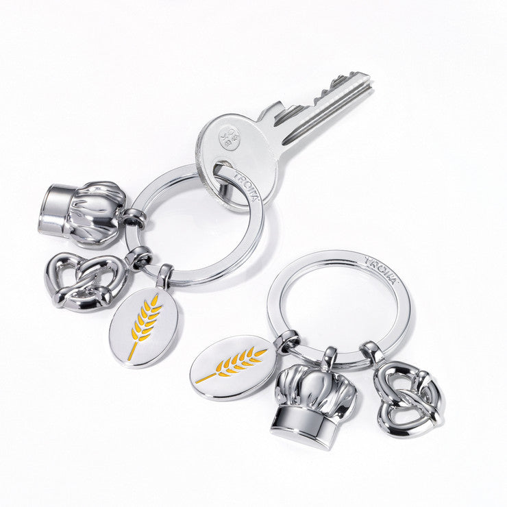 Bakers Mix Keyring 3 Charms
