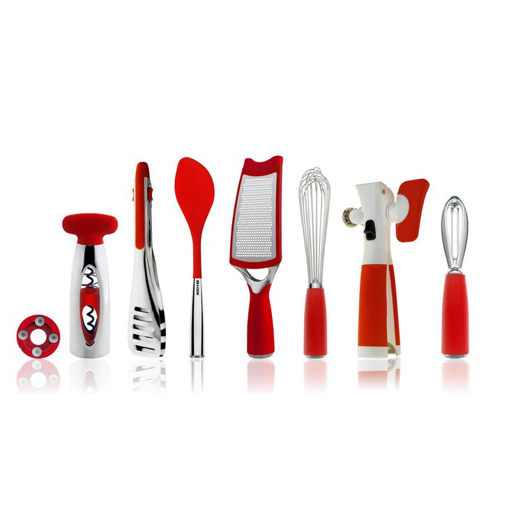 8 Piece Tool Set Red