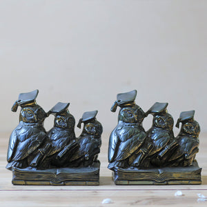 Jennings Brothers Owl Bookends