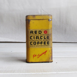 50s Coffee Tin Bank