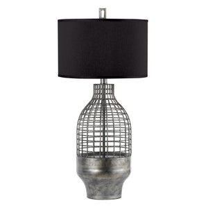 Grid Table Lamp Tall