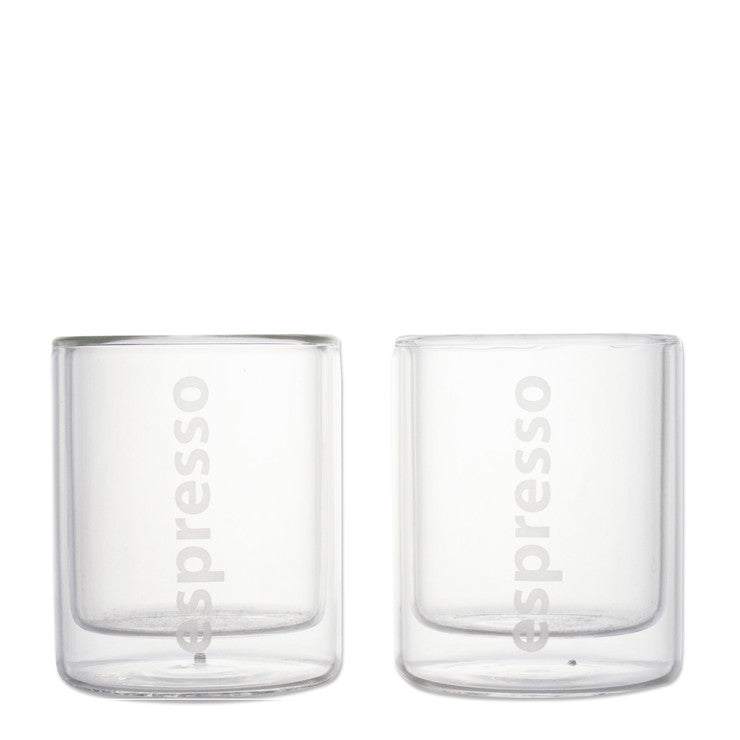 Espresso Glass Set of 2