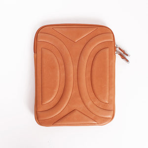 Curved iPad Case Papaya