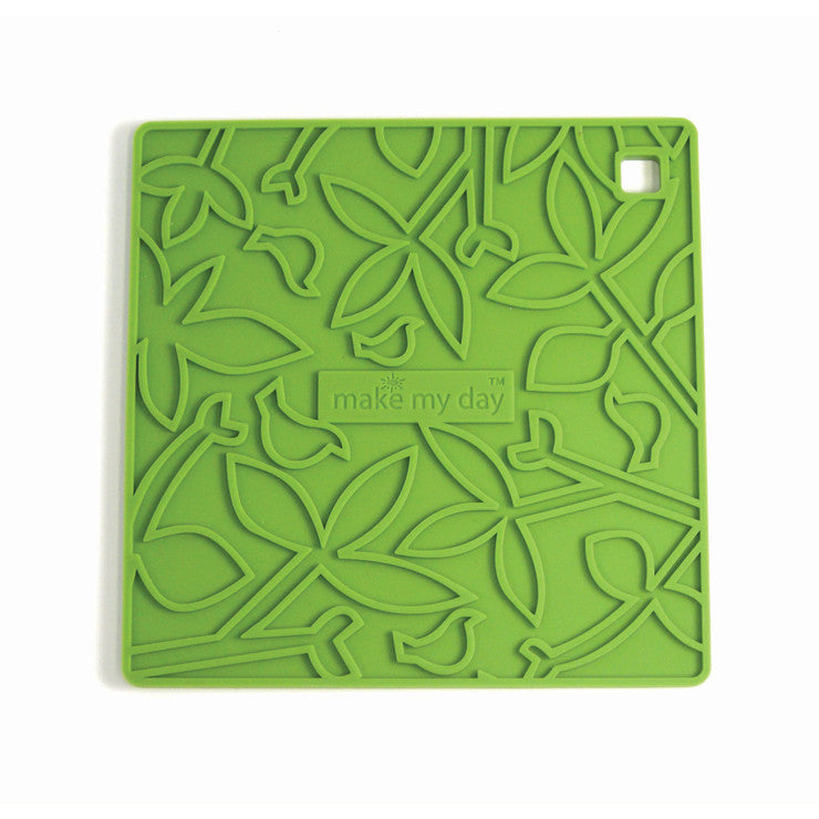 Gorgeous Silicone Trivet Green