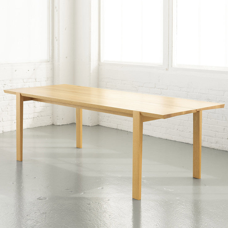 Bad Axe Dining Table White Oak