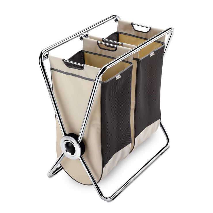 Double X-Frame Laundry Hamper