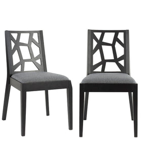 Adrian Side Chair Gray Set Of 2