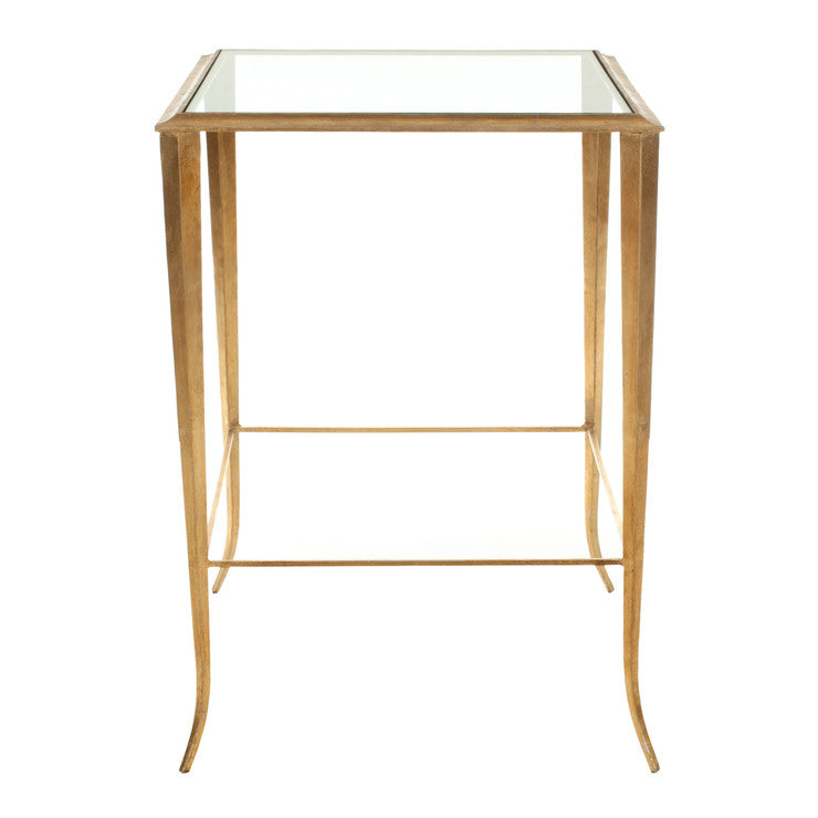 Tory Accent Table Gold