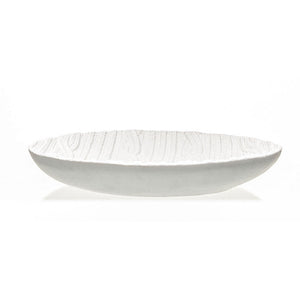 Cableknit Bowl White