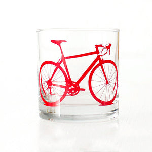 Bike Rocks Glasses Red 4PK