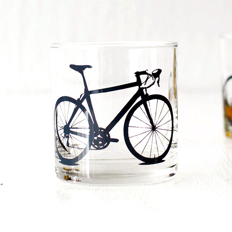 Bike Rocks Glasses Charcoal 4PK