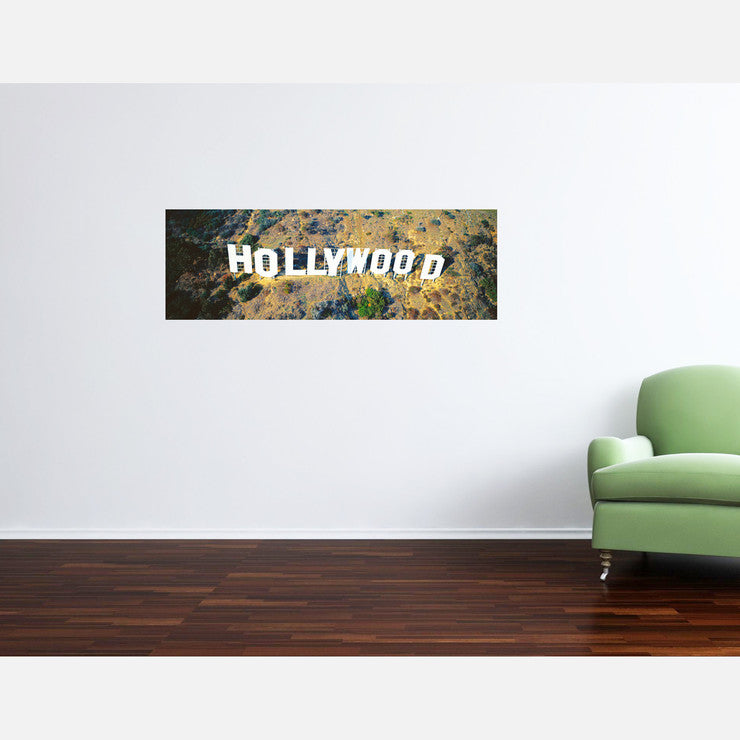 Hollywood Arial View 48x20