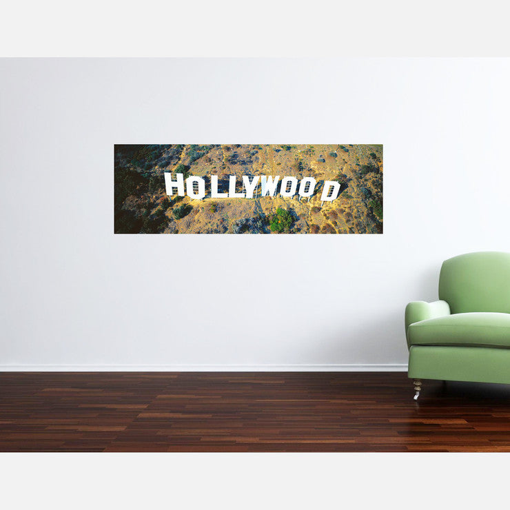 Hollywood Arial View 54x22.5