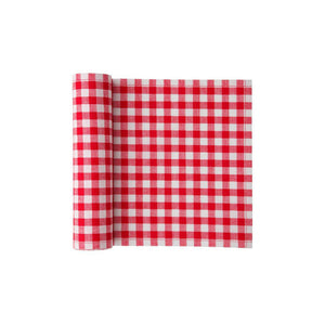 Tear-Off Napkins Red Vichy