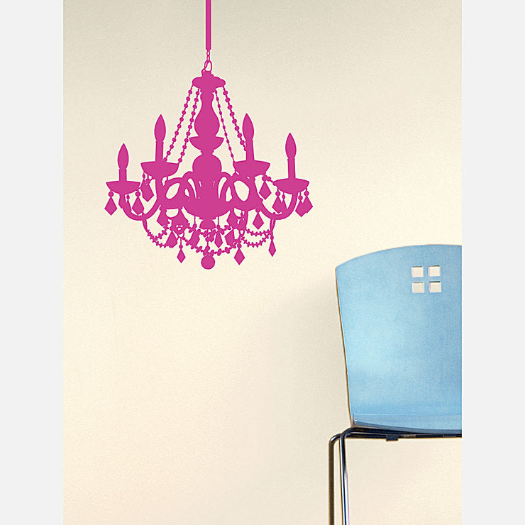 Chandelier Decal 28x23 Pinkberry