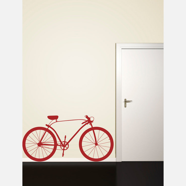 Bike Profile Decal 64x33 Red
