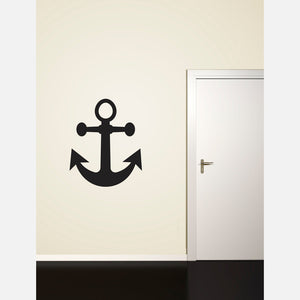 Large Anchor Decal 3x3.75 Ink