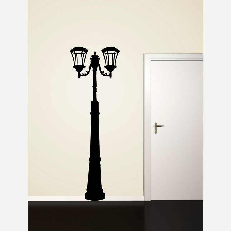 Lamp Post Decal 28.6x88 Ink