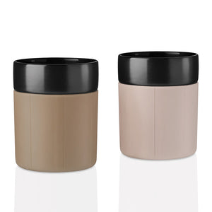 Dot Mug Brown Set Of 2