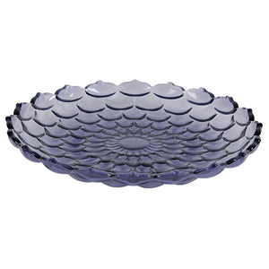 Teardrop Plate Purple 10.6
